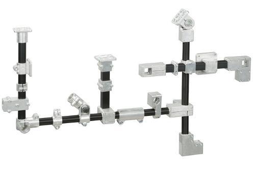 Alüminyum boru bağlantı parçaları/kelepçeli bağlantı parçala