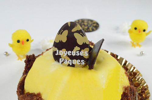décoration chocolat de Pâques