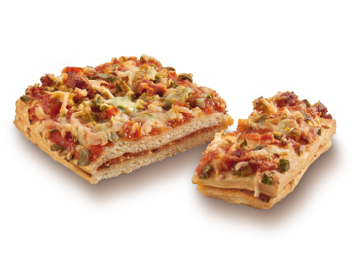 Filled Pizza Slice Diavolo