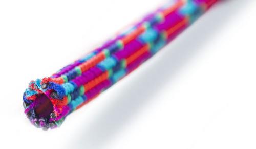 Braided hose elastic