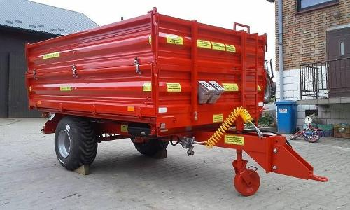 Trailer T-151/1 Load capacity: 3500kg