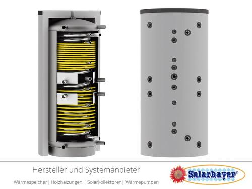 Solarbayer Hygiene-Schichtladespeicher