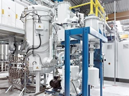 Inductive heat-treatment vacuum furnaces type IOV