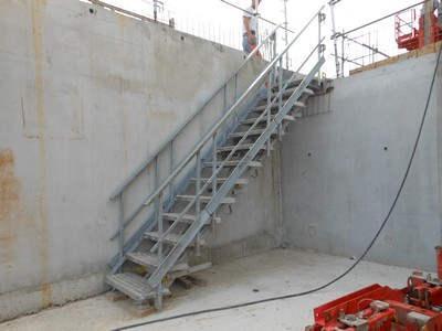 Escalier Modulaire d'Accés Provisoire