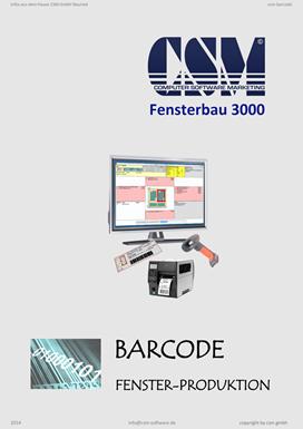 CSM Barcode in der AV