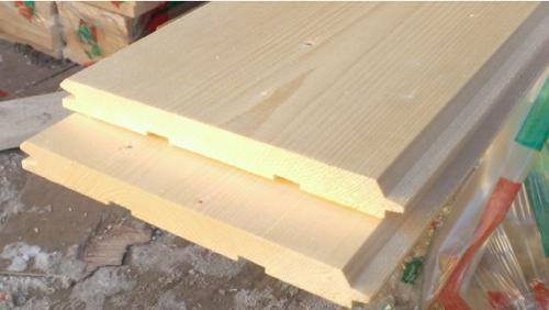 16x135mm Thick Wooden Shiplap Cladding Board