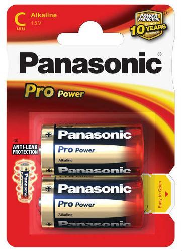 Batterie mezza torcia Pro Power 2 pz