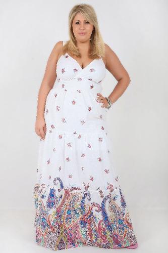 Plus Size Cotton Maxi Dresses
