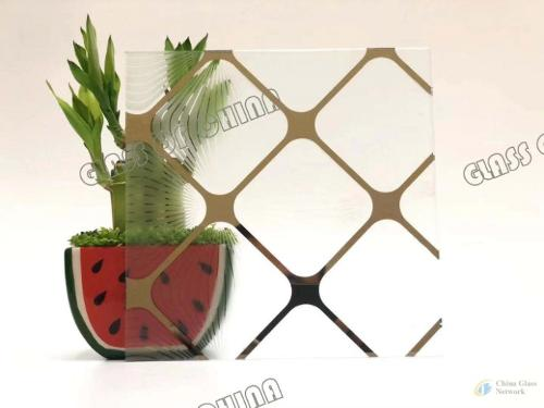 4--6mm Acid Etched Frosted Art Glass High Quality