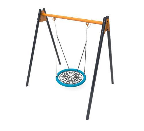 Nest steel swing