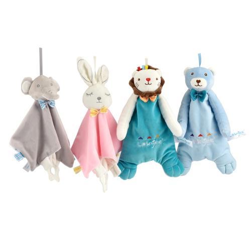 Baby Toys Animals Head Newborn Cotton Toy