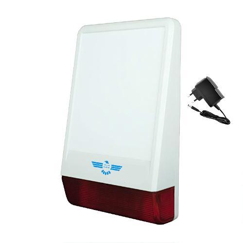 Sirena Wireless senza fili alimentazione 5V fornita di serie