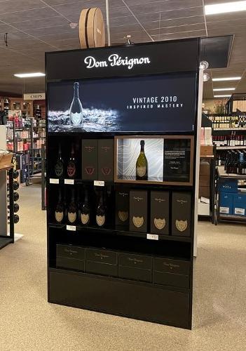 Dom Pérignon_ Présentoir Permanent
