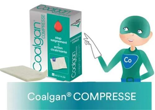 Compresses stériles : COALGAN compresses