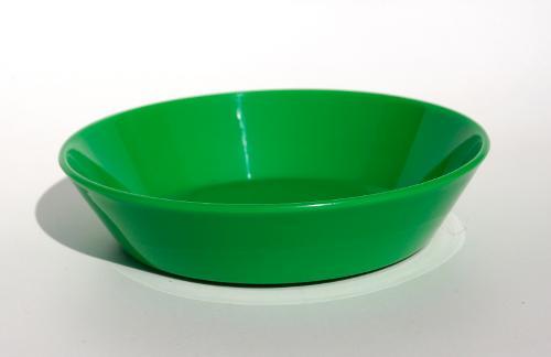 18421, Fatboy Bowl Green, 15x15x3,5cm