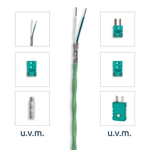 VLM thermocouple extension | Teflon | Type K
