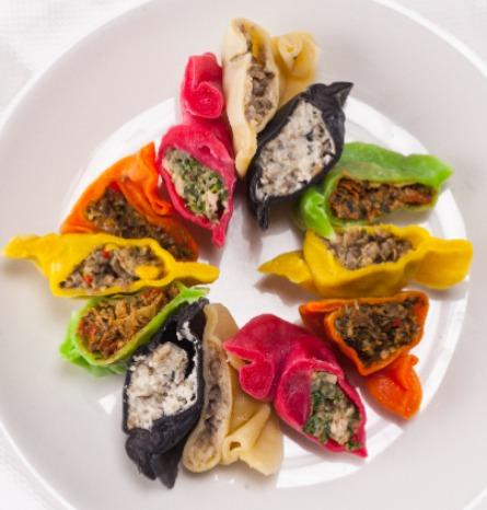 Ravioli with snails, mix of 6 flavors