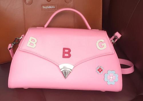BG Sac Damour,Stylish Leather Handbag