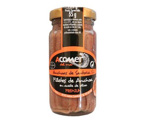 Anchoa del Cantábrico en Aceite de Oliva 100 grs
