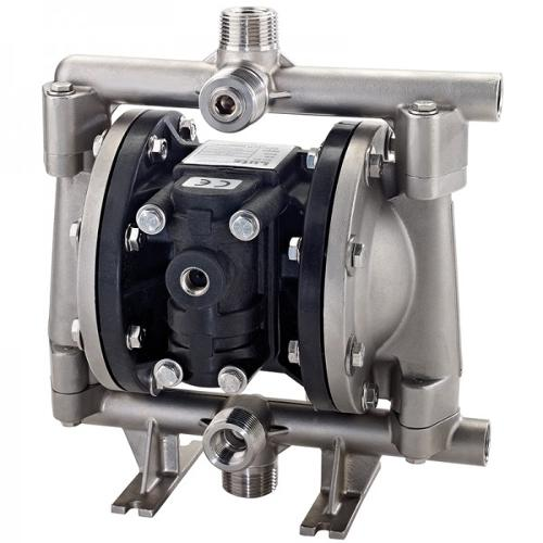 "Double diaphragm pump 1/2"" made of stainless steel..."