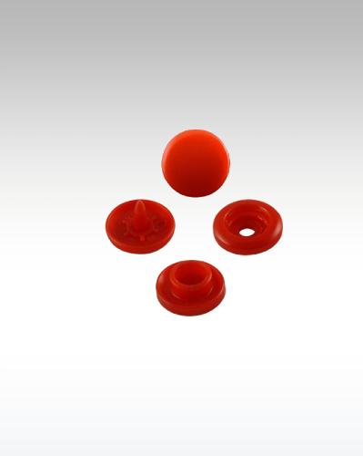 Atom Red Plastic Snaps (12,50mm) Cap