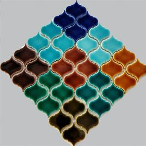 fileli mozaik porselen çini plakalar