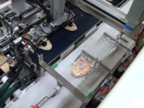 Bereiterungsanlage für Pizzen