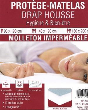 Protege matelas impermeable respirant