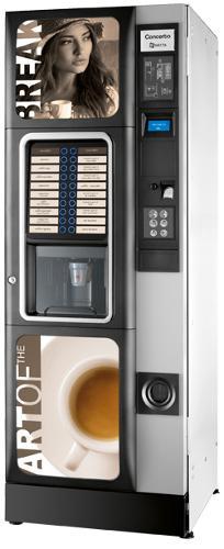 Distributori automatici bevande calde