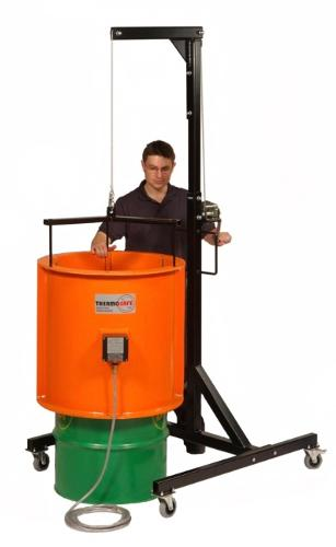 Drum and container heating accessories