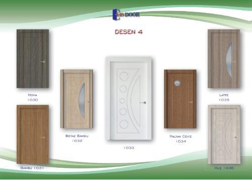 PVC İç Oda Kapıları-4