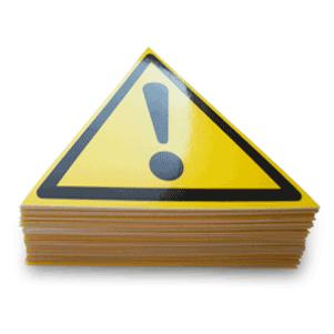 Предупреждающие знаки безопасности