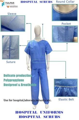 disposable medical scrubs nursing uniforms hospital uniforms