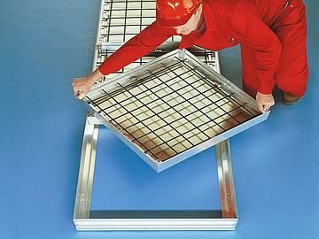 BVA-RA Aluminium Largely sealed covers