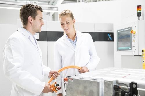 Testgerät für Batterien, Brennstoffzellen und Elektrolyseure