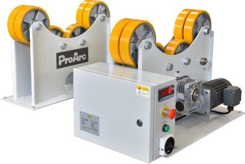 3500KG Welding rotator turning roll