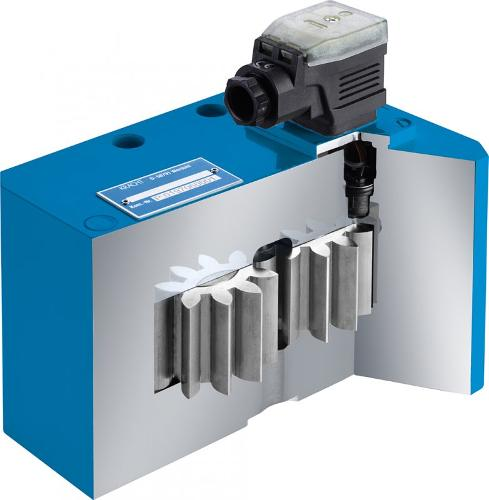 Gear type flow meters VCA/VCN/VCG