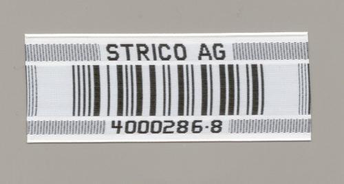Gewebte Barcode-Etiketten