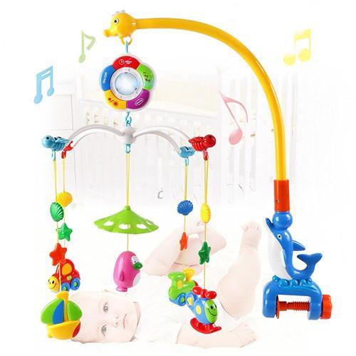 Baby animal hanging rattles