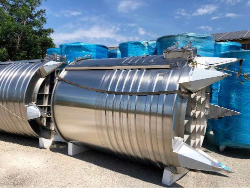 Depósito de acero inoxidable 304 - 105 HL