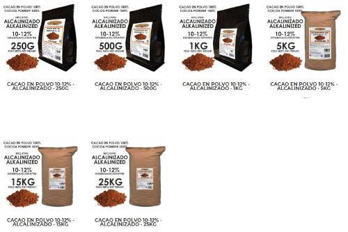 Cacao en Polvo - Tienda online Shop
