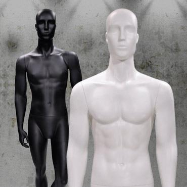 Male display mannequin