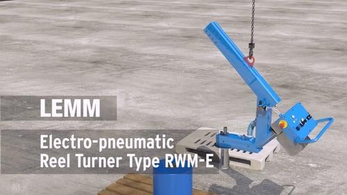 Reel turners, electro-pneumatic