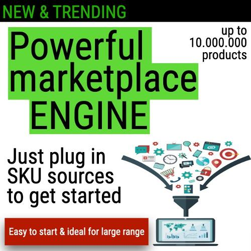 Powerful marketplace engine with easy start