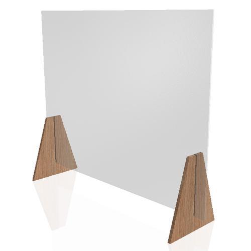 Plaque de protection en plexiglas