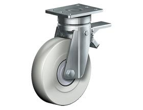 SWIVEL CASTOR WITH TOTAL LOCK