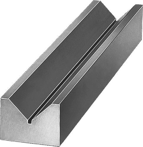Profil en V Fonte grise et aluminium