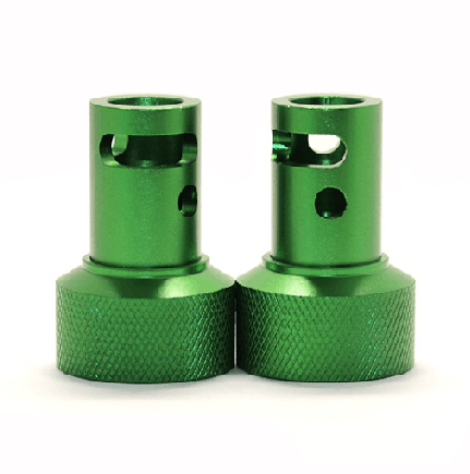 competitive price cnc machining anodised part