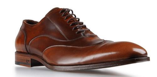 Zapato de cuero elegante
