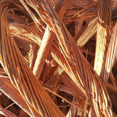 Kobbertrådskrot Millberry 99,99%. kobber katode.